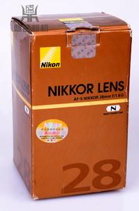 尼康AF-S 28MM F/1.8G 全副镜头 专业广角镜 国行全套包装 无拆修
