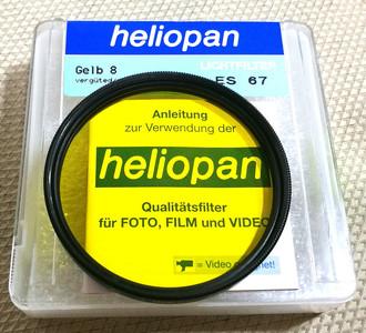 德产Heliopan/浩亮 67mm 3x -1.5 中黄镜带包装