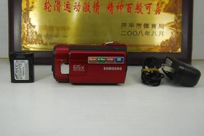 三星 SMX-F40RP 数码摄像机 家用便携DV摄像机 防抖 可置换