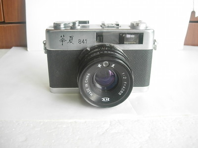 很新华夏841金属制造旁轴相机,收藏使用,送皮套