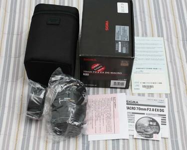 适马 新款微距,70 F2.8 EX DG MACRO ,真品行货,佳能口