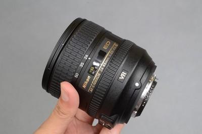 9.99新,没用过。尼康AF-S 24-85mm f/3.5-4.5G ED VR