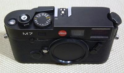 Leica徕卡 M7 黑色 0.72(294后期号段MP取景器)