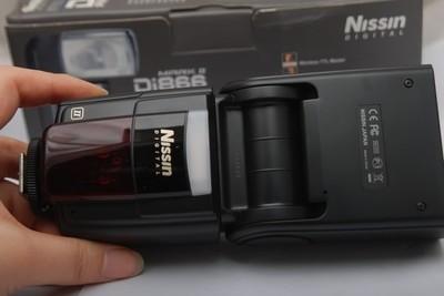 96新日清NISSIN DI866 闪光灯(欢迎议价,支持交换)