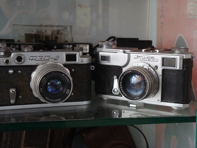 FED2型机身A050533镜头号9270189功能正常