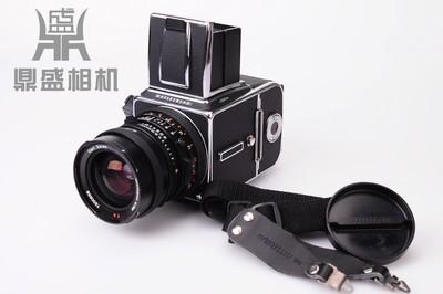 哈苏501CM 50mm中幅单反胶卷相机 A12 胶卷盒 成色很新 功能正常