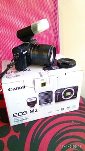 Canon EOS M2 标套行货包装全