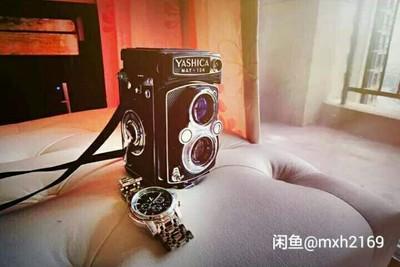 雅西卡124中画幅双反胶片机