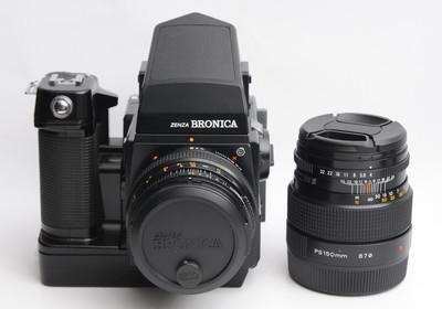勃朗妮卡 SQ-AM 6X6 中画幅胶片相机双头套机 天津福润相机