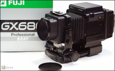 富士 GX680机身+EBC150/4镜头+6X8后背套机