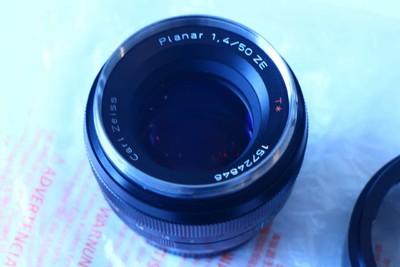 佳能EF口蔡司planar50f1.4镜头