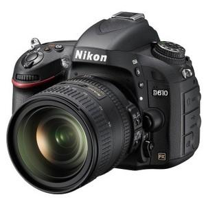 尼康 D610套机 24-70f2.8 全画幅单反相机 正品 单买3450