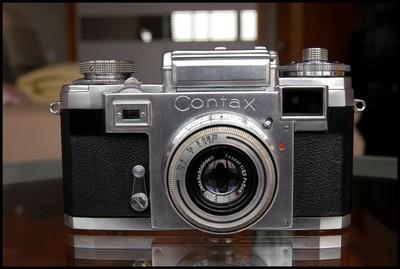 Contax IIIa+50/3.5,古典旁轴!