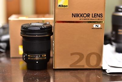 尼康 AF-S 尼克尔 20mm f/1.8G ED