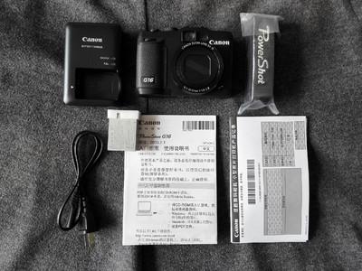 佳能G16相机全套包装配件99成新包顺丰卖