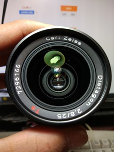 Contax 蔡司康泰时25mm F2.8 YC口 手动镜头