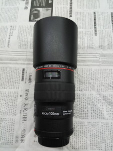 佳能 EF 100mm f/2.8L IS USM微距 99.99新