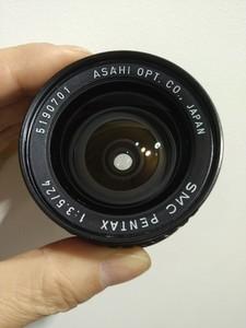 宾得 Pentax K24/F3.5 手动广角镜头