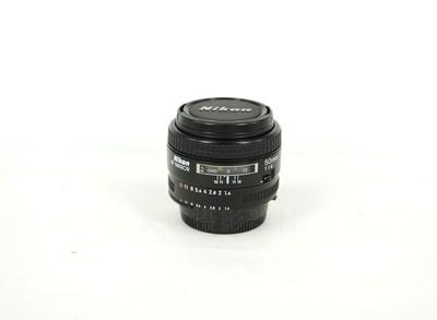 尼康 AF 50mm f/1.4   日本原厂镜头 标准定焦镜头