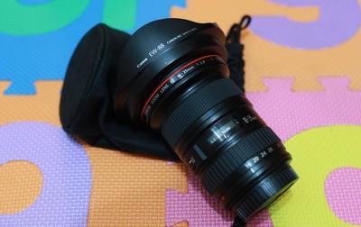 慢出佳能 EF 16-35mm f/2.8L II USM,自用98新,箱说全