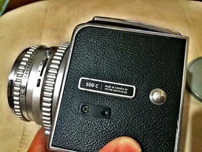 Hasselblad 500C && CF 80mm 标头 A12后背 套机