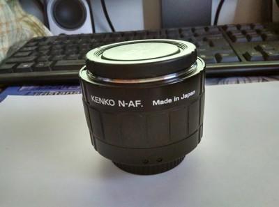 肯高 PRO-300 DG 2倍 增距镜(尼康口)