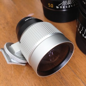Leica 21-28 Zoom-View finder(white)
