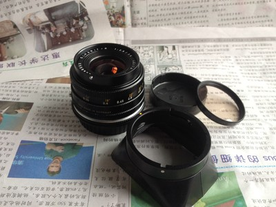 出自用 E48  版徕卡 R35 2.8配件齐全 镜片完美