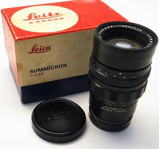 Leica 徠卡 M90/2 Summicron 99%新 NO:4238