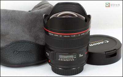 佳能 EF 14mm f/2.8L II USM 二代超广角 定焦红圈镜头