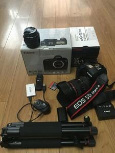 上海本地出成色佳的个人自用全套佳能 5D Mark II相机24-105镜头