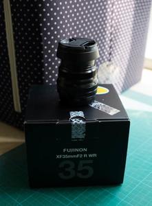 富士 XF35mmF2 R WR