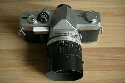 Minolta SR-1 mc rokkor-pf 58mm f/1.4
