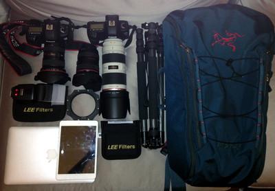 始祖鸟45升背包,登山包,摄影包