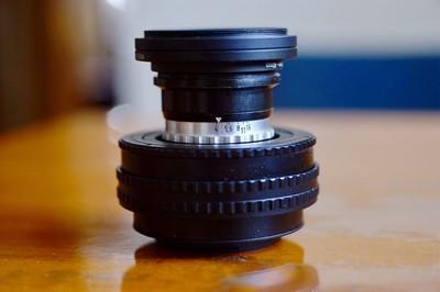 Rodenstock Eurygon 35mm/F4 罗顿斯德高素质广角放大头改 E 口