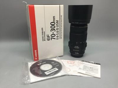 98新行货带包装佳能 EF 70-300mm f/4-5.6 IS USM 70-300