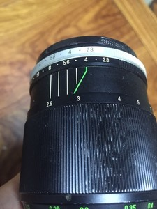 理光60mm/2.8 1:1微距镜头 m42口