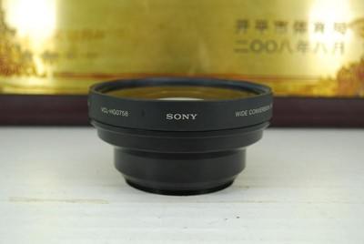 索尼 X0.7 广角附加镜 58mm口径 0.7倍 单反镜头增距镜