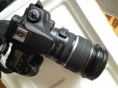 佳能 60D 配17-55 F2.8半幅镜皇 套出 配件全