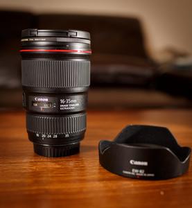 (大出血,送B+W正品滤镜)佳能 EF 16-35mm f/4L IS USM