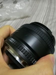 尼康 AF 50mm f/1.8D(尼康标头) 自用 全新 从来没用过