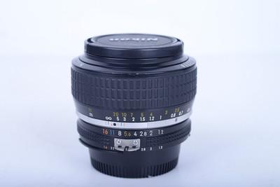 95新二手 Nikon尼康 50/1.2 AIS 手动定焦镜头(B4531)【京】