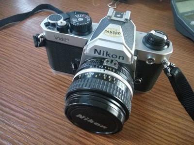 尼康FM2相机闲置出售!带50mm 1:1.4镜头。