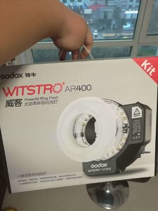 神牛威客AR400大功率环形闪光灯