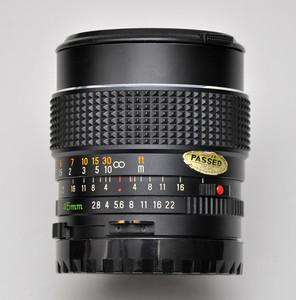玛米亚645用镜头 45/2.8  支持置换收购
