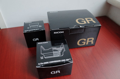 理光GR+广角套装(GH-3加GW-3) 包顺丰 配件齐全