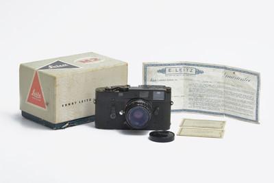 【珍品】Leica M2+35/2八枚玉黑漆对号保卡1964年套装#hk6981