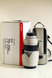 佳能EF 70-200mm f/2.8L USM(小白)+UV
