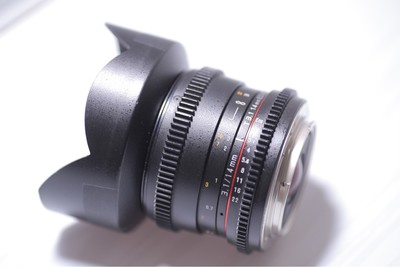 三阳 14mm F2.8 T3.1 电影版 佳能口 无暗病 阻尼顺滑 成色新