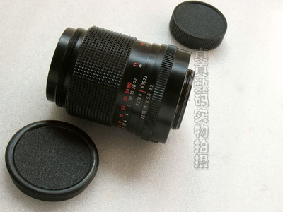 成色很好 原装正品 蔡司 S 135 F3.5 CZJ DDR 红字MC M42口 #0535